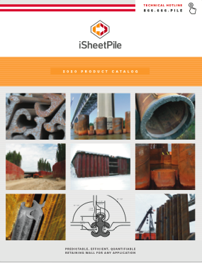 Download a iSheetPile Catalog
